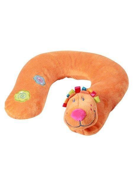 BABY ONO Cestovní polštářek Lvíček Baby Ono oranžový