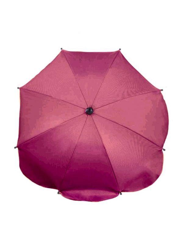 Slunečník na kočárek růžovo-fialový NEW BABY