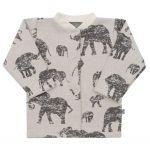 Kojenecký kabátek Baby Service Sloni šedý 40481