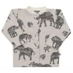 Kojenecký kabátek Baby Service Sloni šedý 40484