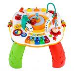 Mluvící a hrající interaktivní stoleček New Baby s jezdícím vláčkem CZ/SK 39508