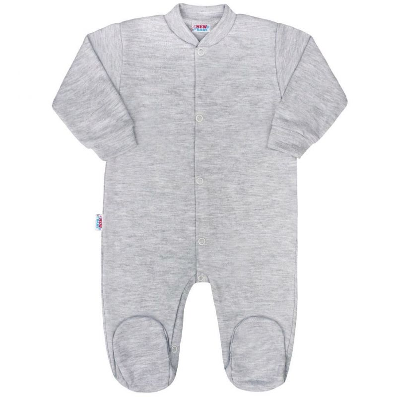 Kojenecký overal New Baby Classic II šedý 35091