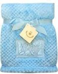 BOBO BABY Dětská deka 76x102 cm - Boy, modrá