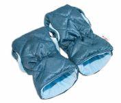 Rukávník ke kočárku Baby Nellys ®, prošívaný, Velvet - modrý