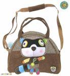 EcoSnoopers Stylová dětská taška Mýval - hnědý