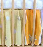 Darland VÝPRODEJ Krásný volánek pod matraci - Městečko pomeranč