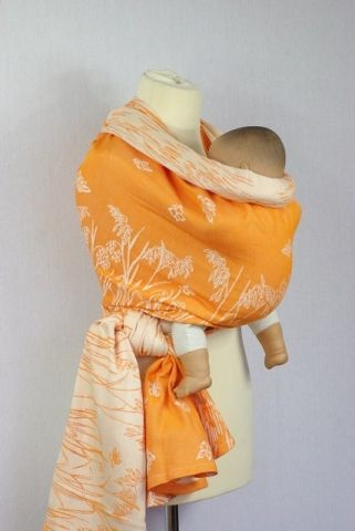 Šátek na nošení miminek a dětí ŠaNaMi - Obilí