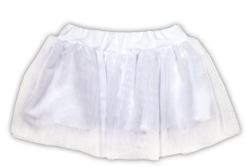 Tutu suknička NICOL PŘÁTELÉ - BIO bavlna - smetanová, vel. 74