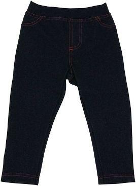 Mamatti Bavlněné jednobarevné legíny - jeans, vel. 80