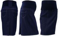 Gregx Těhotenská sukně jeans SOMI - jeans