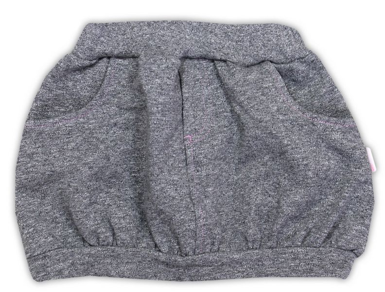 Suknička NICOL SUPERSTAR - melír šedá