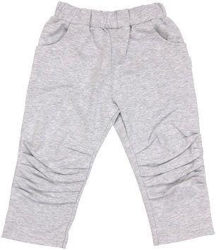 Mamatti Bavlněné tepláčky, kalhoty Four - šedé, vel. 92