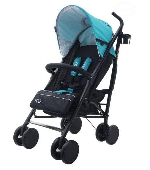 Euro Baby Sportovní kočárek Eco Swiss design - blue, K19