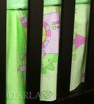 Darland VÝPRODEJ Krásný volánek pod matraci - Zámek zelený