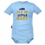 Body krátký rukáv Dejna New little Baby - Boy, modré, vel. 86