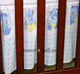 Mamo Tato Krásný volánek pod matraci - Babyland v modrém
