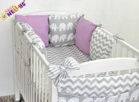 Baby Nellys Mantinel Be Love Lux polštářkový s povlečením vzor č. 17