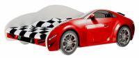 Nellys Dětská postel Super Car - červená