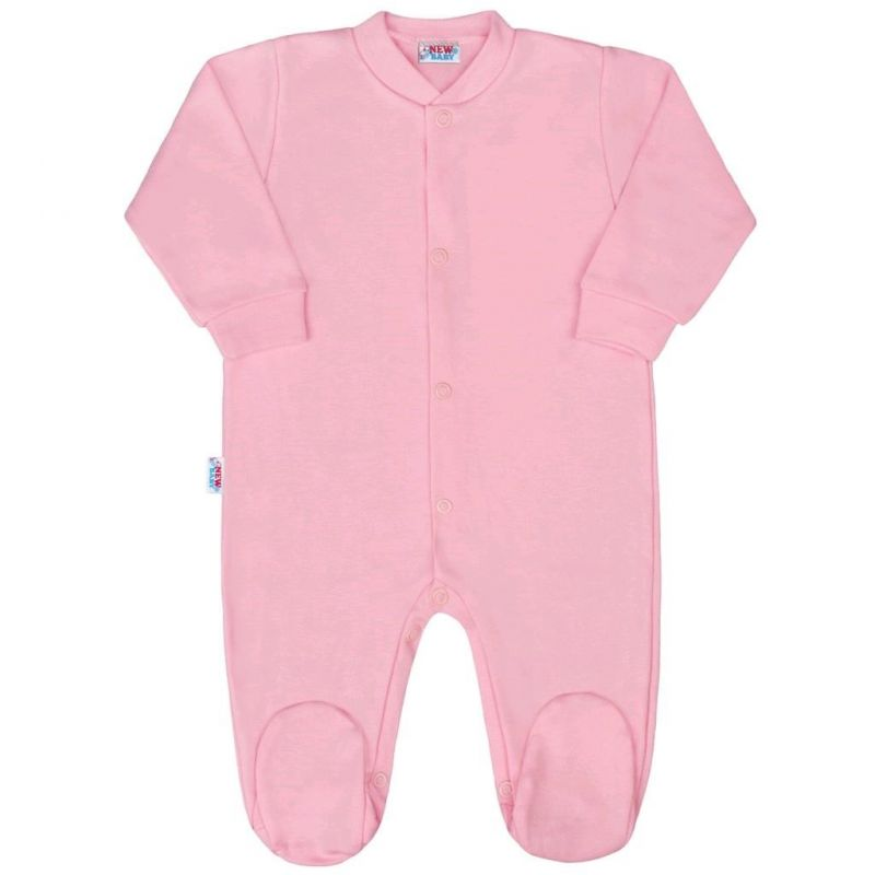 Kojenecký overal New Baby Classic II růžový 35092