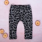 K-Baby Dívčí legíny Gepardík, šedo-černá, vel. 92