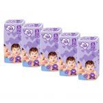 MEGAPACK Dětské jednorázové pleny New Love Premium comfort 5 JUNIOR 11-25 kg 5x38 ks 40676
