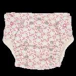 Mamatti Látková plenka EKO sada - kalhotky + 2 x plenka, vel. 5-14 kg, Rozeta