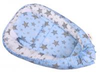 Baby Nellys Sada komplet, oboustranné hnízdečko 50 x 80 cm, STARMIX, modrá