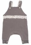 Mamatti Dětské láclové kalhoty Louka - šedé, vel.74