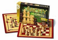 Hra Šachy - dáma a mlýn