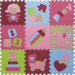 Pěnové puzzle - svět hraček