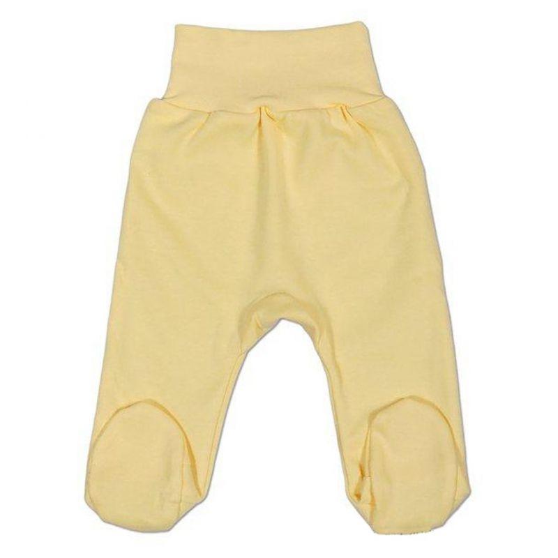 Kojenecké polodupačky New Baby žluté 2557