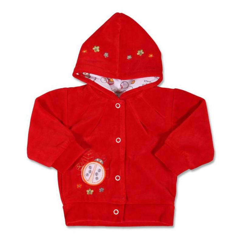 Semišková mikinka s kapucí 13840 NEW BABY