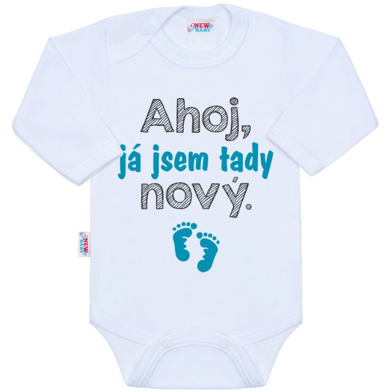 Body s potiskem New Baby Ahoj, já jsem tady nový. 36995