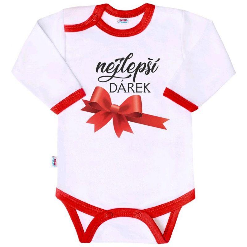 Body s potiskem New Baby nejlepší DÁREK 37222