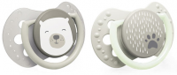 Lovi Dudlíky 0 - 2 m Buddy Bear - béžové