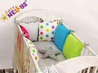 Baby Nellys Mantinel Be Love Lux polštářkový s povlečením vzor č. 13