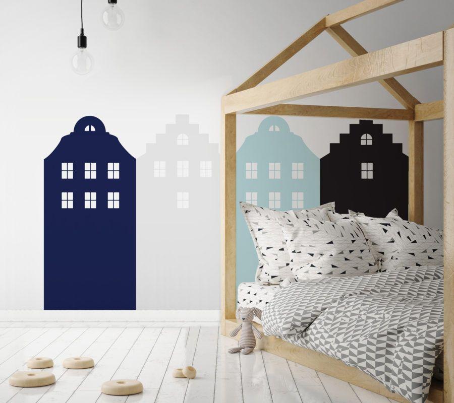 Dekorace za postel DEKORNIK - Amsterdam modrá