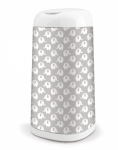 Angelcare Koš na použité plenky Dress Up + 1 vložka do koše - Sloni šedí