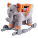 Houpací hračka s melodií a kolečky PlayTo sloník 38998