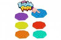 Bubble pops - Praskající bubliny silikon antistresová spol. hra modrá