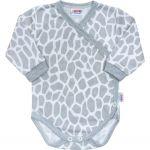 Kojenecké body celorozepínací New Baby Žirafa 32568