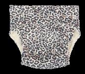 Mamatti Látková plenka EKO sada - kalhotky + 2 x plenka, Gepardík, vel. 3 - 8 kg