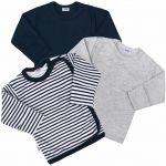 Kojenecká košilka New Baby Classic II Kluk 3ks 35029