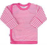 Kojenecká košilka New Baby Classic II s růžovými pruhy 34968