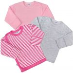 Kojenecká košilka New Baby Classic II Holka 3ks 35032