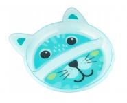Canpol babies Plastový talířek dvoukomorový - Pejsek