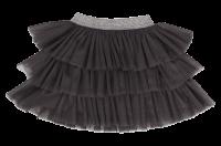 Mamatti Kojenecká tylová sukně, Gepardík, grafitová