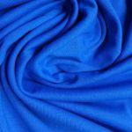 Bavlněné prostěradlo 200x90 cm - modré