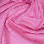 Froté prostěradlo 200x90 cm - růžové