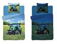 Dětské svítící povlečení Traktor 140x200 cm
